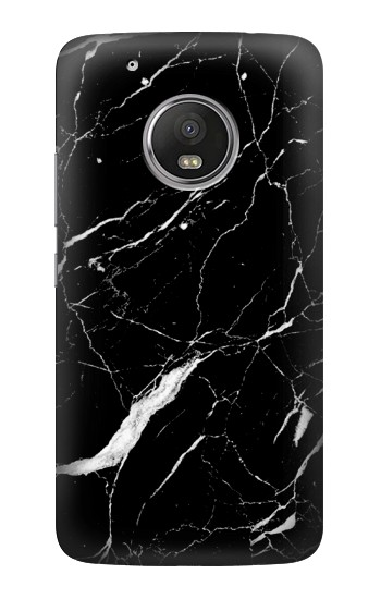Printed Black Marble Graphic Printed HTC One (E8) Case