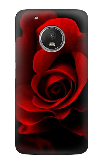 Printed Red Rose HTC One (E8) Case