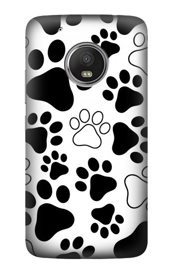 Printed Dog Paw Prints HTC One (E8) Case