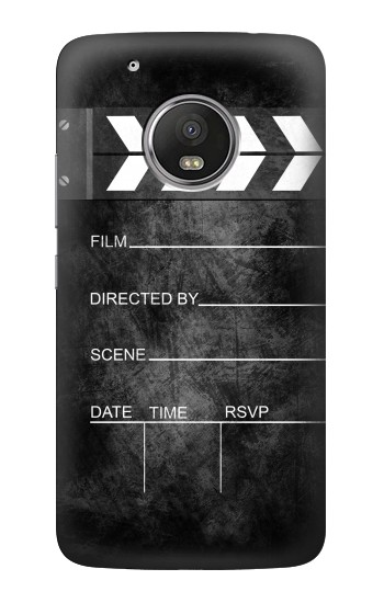 Printed Vintage Director Clapboard HTC One (E8) Case