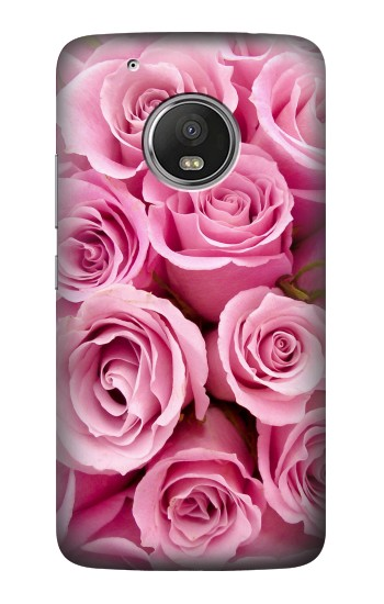 Printed Pink Rose HTC One (E8) Case