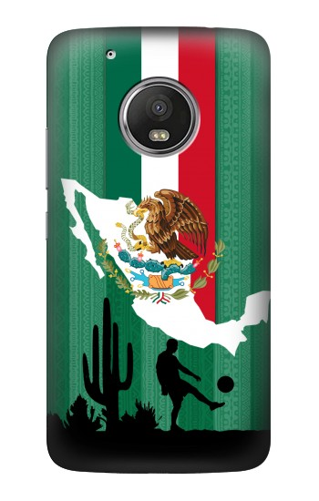 Printed Mexico Football Flag HTC One (E8) Case