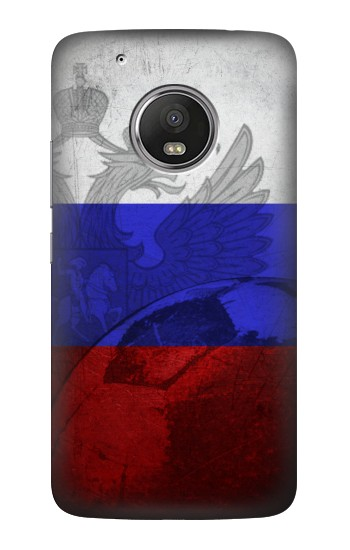 Printed Russia Football Flag HTC One (E8) Case