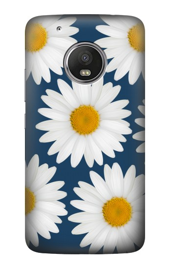 Printed Daisy Blue HTC One (E8) Case