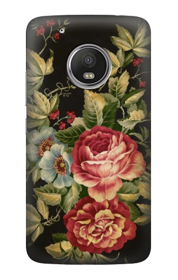 Printed Vintage Antique Roses HTC One (E8) Case