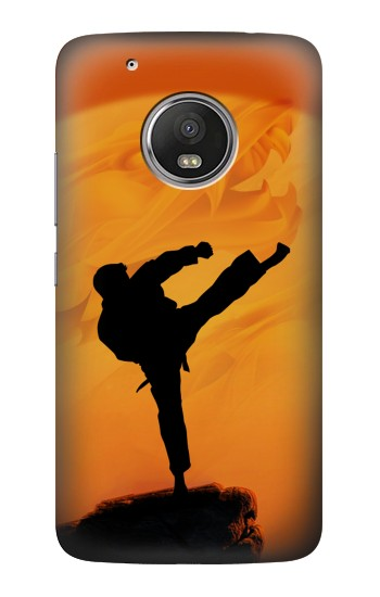 Printed Kung Fu Karate Fighter HTC One (E8) Case