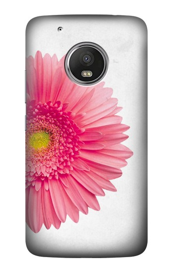 Printed Vintage Pink Gerbera Daisy HTC One (E8) Case