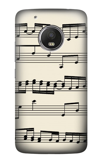 Printed Music Sheet HTC One (E8) Case