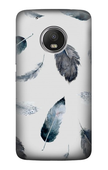 Printed Feather Paint Pattern HTC One (E8) Case