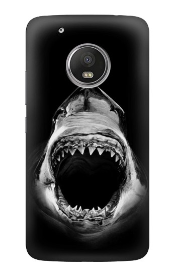 Printed Great White Shark HTC One (E8) Case