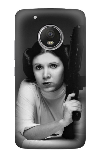 Printed Princess Leia Carrie Fisher HTC One (E8) Case