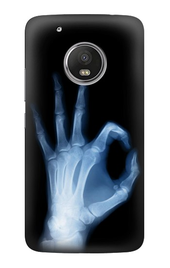Printed X-Ray Hand Sign OK HTC One (E8) Case