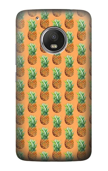 Printed Pineapple Pattern HTC One (E8) Case
