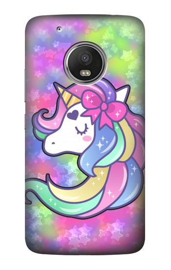 Printed Pastel Unicorn HTC One (E8) Case