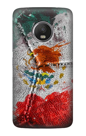 Printed Mexico Flag Vinatage Foorball 2018 HTC One (E8) Case