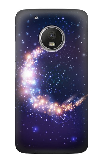 Printed Crescent Moon Galaxy HTC One (E8) Case