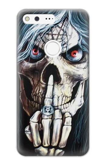 Printed Skull Pentagram Google Pixel XL Case