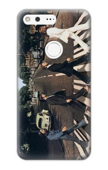 Printed The Beatles Abbey Road Google Pixel XL Case