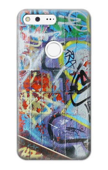 Printed Wall Graffiti Google Pixel XL Case