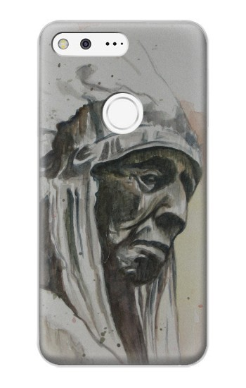 Printed Indian Chief Google Pixel XL Case