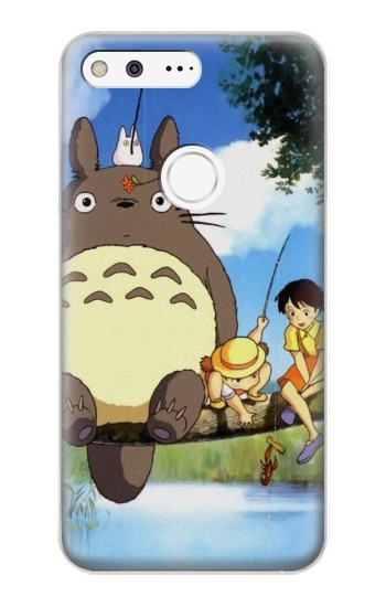 Printed Totoro and Friends Google Pixel XL Case