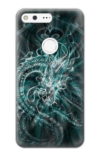 Printed Digital Chinese Dragon Google Pixel XL Case