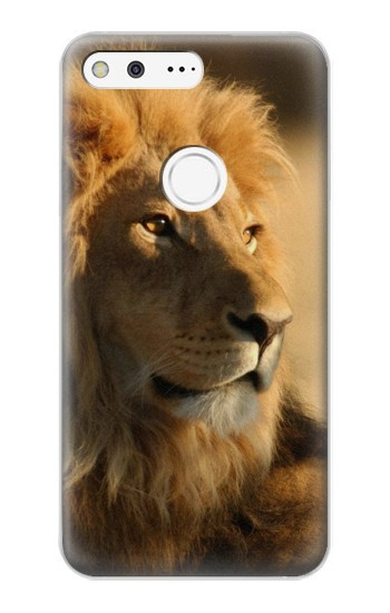Printed Lion King of Forest Google Pixel XL Case