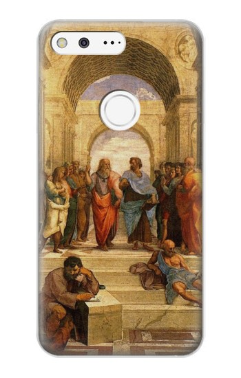 Printed Raphael School of Athens Google Pixel XL Case