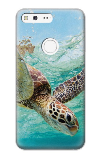 Printed Ocean Sea Turtle Google Pixel XL Case