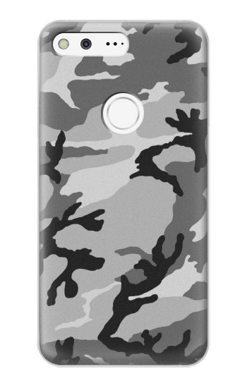 Printed Snow Camo Camouflage Graphic Printed Google Pixel XL Case