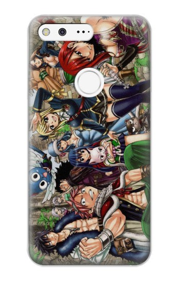 Printed Fairy Tail Guild Members Google Pixel XL Case