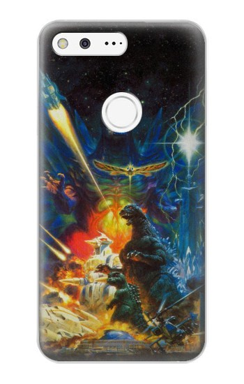 Printed Godzilla VS Space Godzilla Google Pixel XL Case