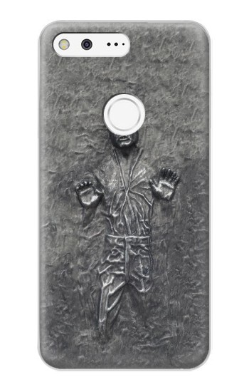 Printed Han Solo in Carbonite Google Pixel XL Case