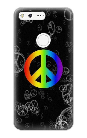 Printed Peace Sign Google Pixel XL Case