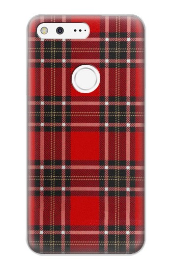 Printed Tartan Red Pattern Google Pixel XL Case