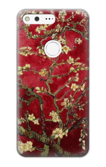 Printed Red Blossoming Almond Tree Van Gogh Google Pixel XL Case