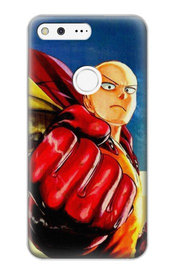 Printed Saitama One Punch Man Google Pixel XL Case