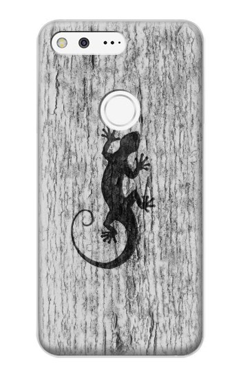 Printed Gecko Wood Graphics Printed Google Pixel XL Case
