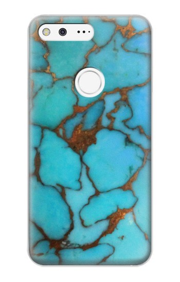 Printed Aqua Turquoise Rock Google Pixel XL Case