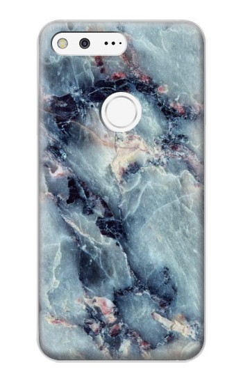 Printed Blue Marble Texture Google Pixel XL Case