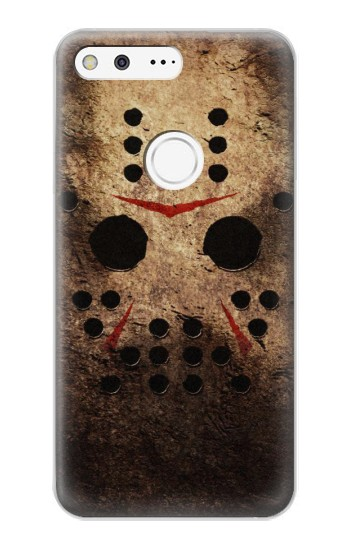 Printed Jason Hockey Mask Google Pixel XL Case