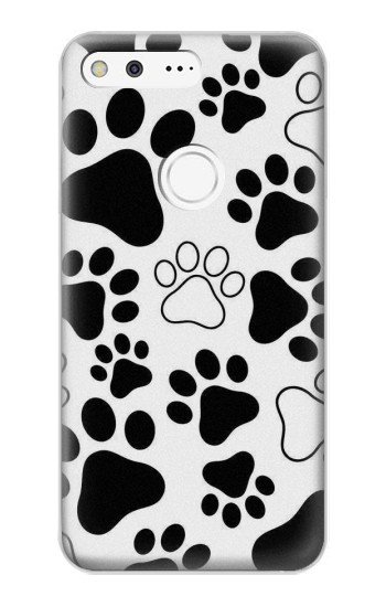Printed Dog Paw Prints Google Pixel XL Case