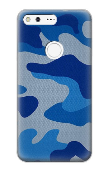 Printed Army Blue Camouflage Google Pixel XL Case