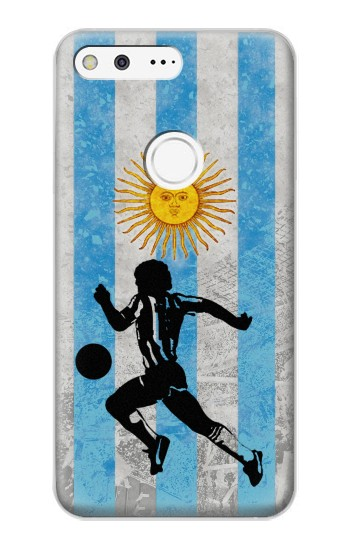 Printed Argentina Football Flag Google Pixel XL Case