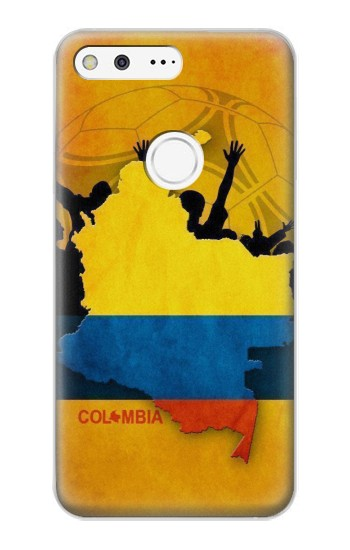 Printed Colombia Football Flag Google Pixel XL Case