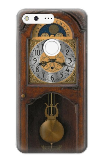 Printed Grandfather Clock Antique Wall Clock Google Pixel XL Case