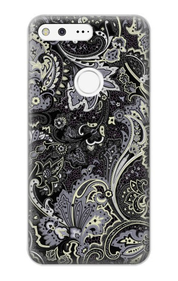 Printed Batik Flower Pattern Google Pixel XL Case