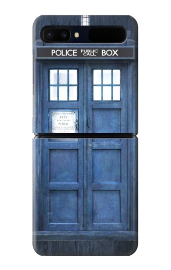 Printed Doctor Who Tardis Samsung Galaxy Z Flip 5G Case