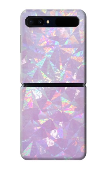 Printed Iridescent Holographic Photo Printed Samsung Galaxy Z Flip 5G Case