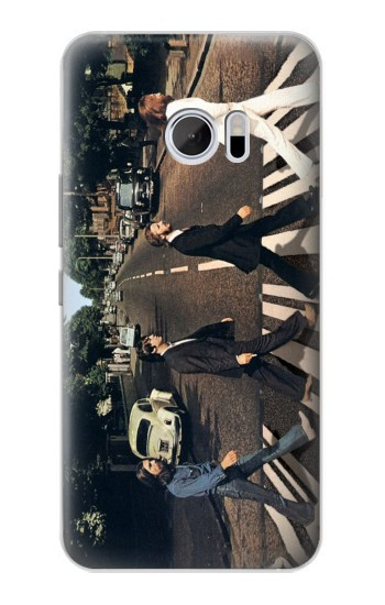 Printed The Beatles Abbey Road HTC 10 Case